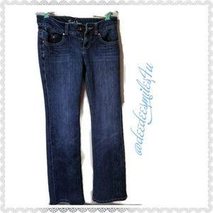 Earl Jeans Regal Dark Antique Flare Size 27